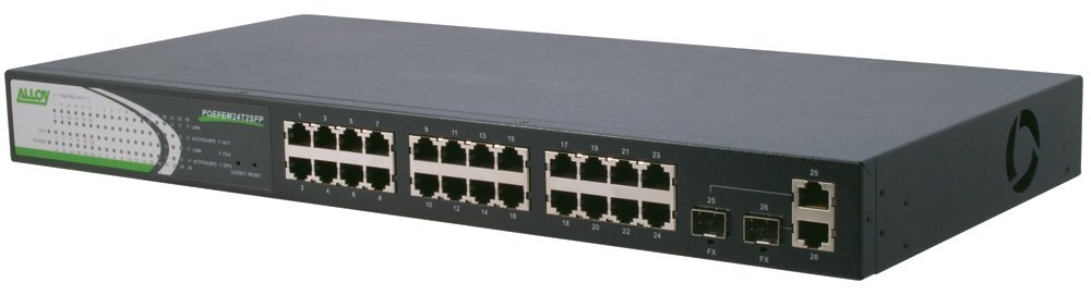 Alloy Australia POEFEM24T2SFP Networking Switches