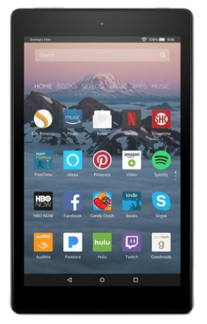 Amazon Fire HD 8 inch Tablet
