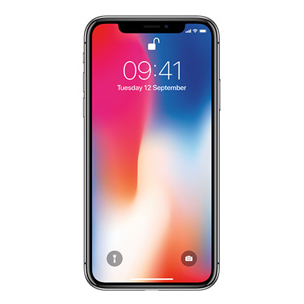 Apple iPhone X 256GB Refurbished Mobile Cell Phone
