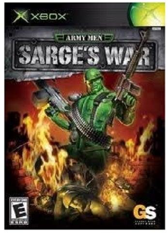 Global Star Army Men Sarges War Xbox Game