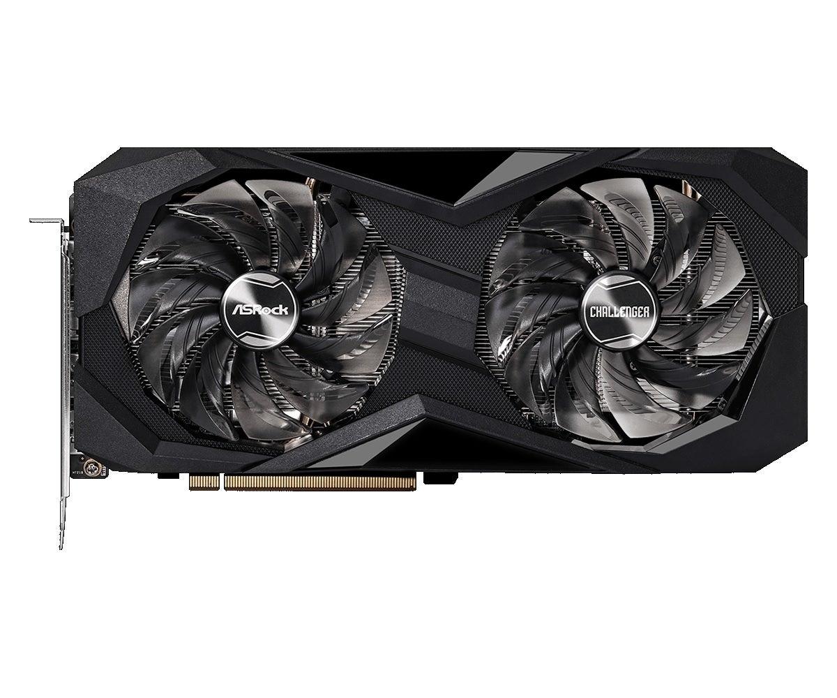 Asrock AMD Radeon RX 6600 XT Challenger D OC Graphics Card
