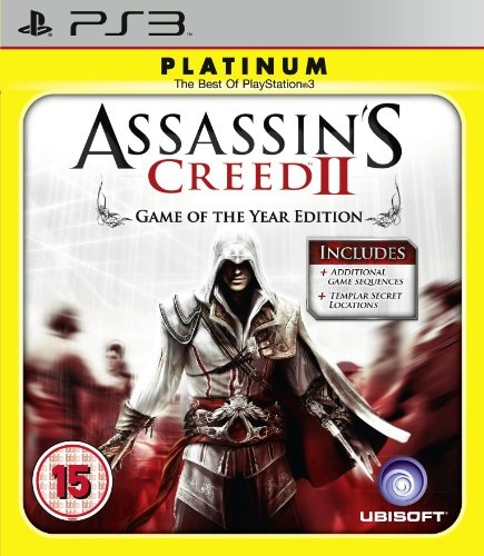 Ubisoft Assassins Creed 2 Platinum Game Of The Year Edition PS3 Playstation 3 Game
