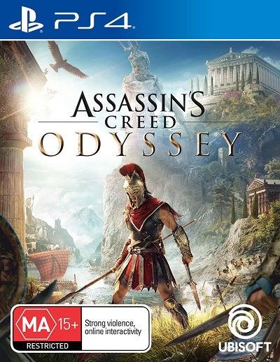 Ubisoft Assassins Creed Odyssey Refurbished PS4 Playstation 4 Game