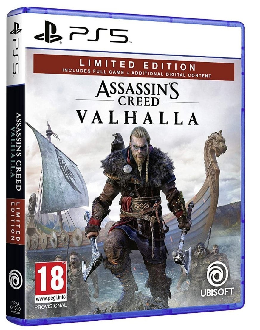 Ubisoft Assassins Creed Valhalla PS5 Playstation 5 Game