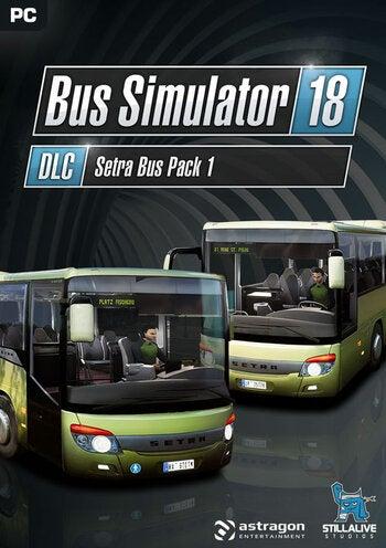 Astragon Bus Simulator 18 Setra Bus Pack 1 PC Game