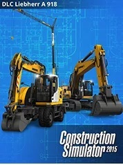 Astragon Construction Simulator 2015 Liebherr A 918 PC Game