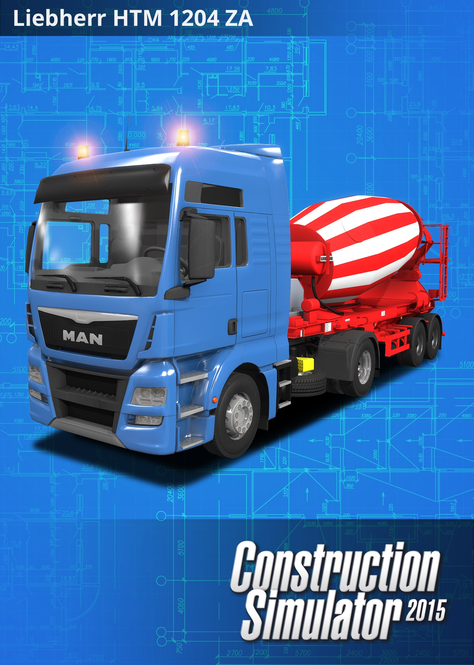 Astragon Construction Simulator 2015 Liebherr HTM 1204 ZA PC Game