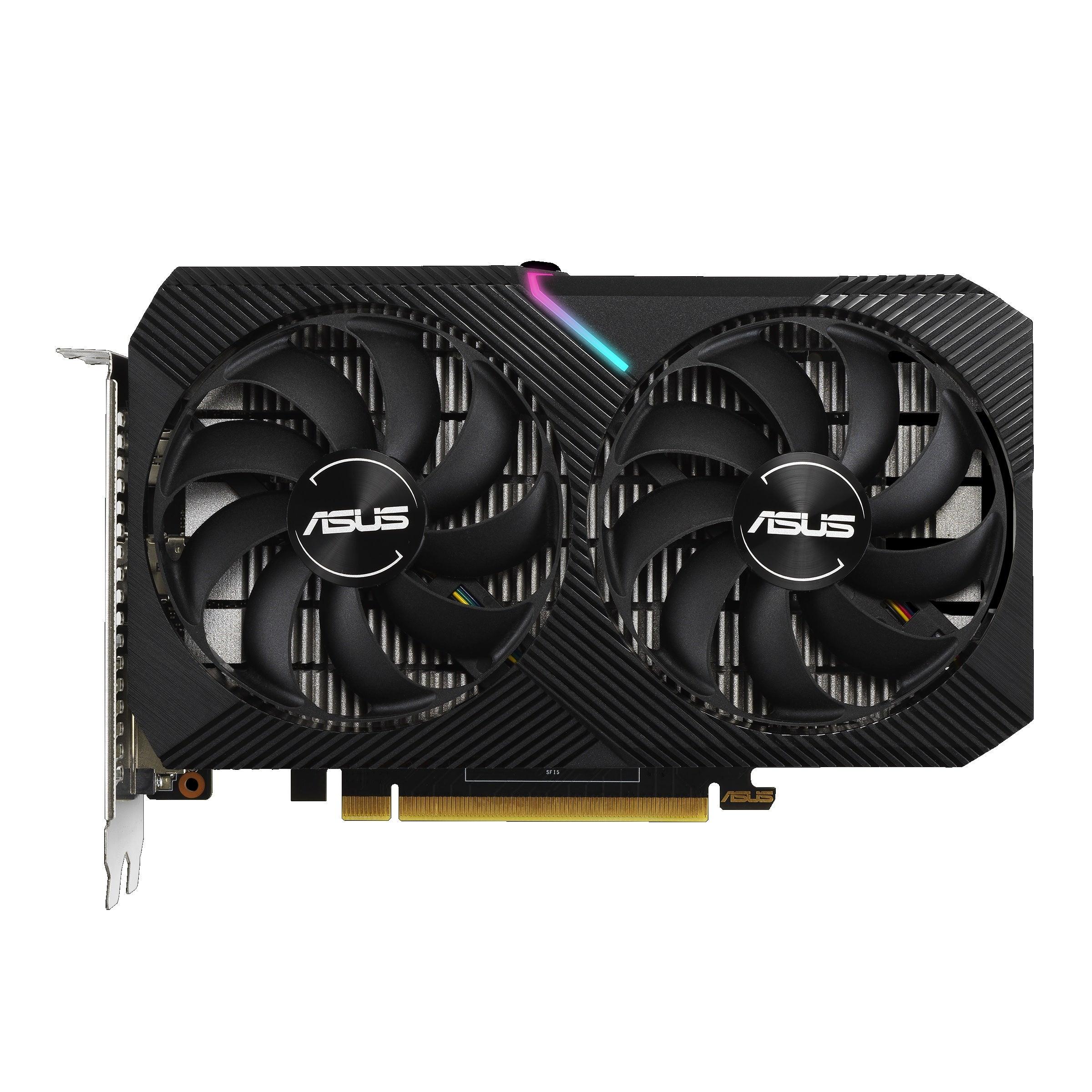 Asus Dual GeForce GTX 1650 Mini OC Edition Graphics Card