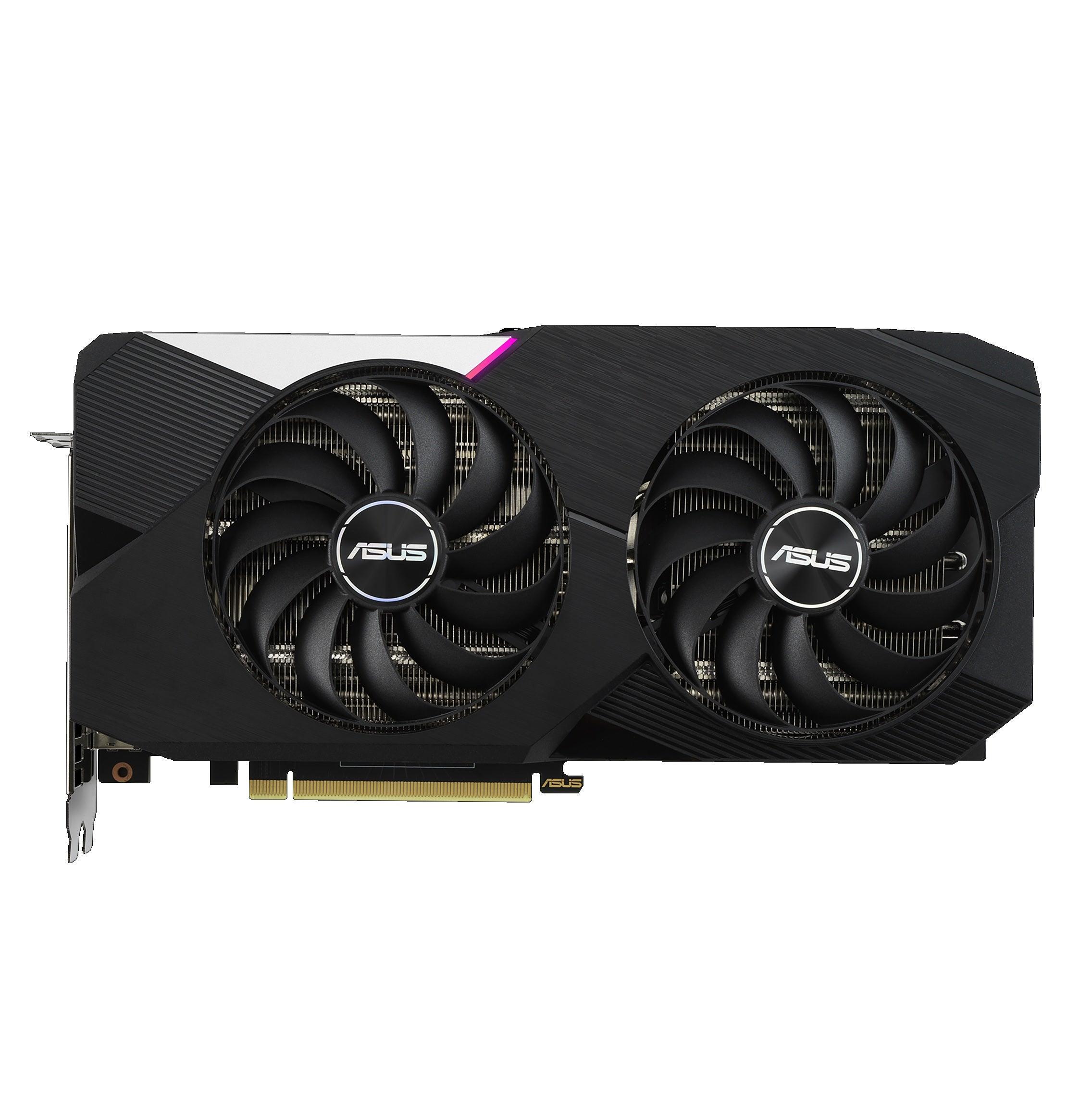Asus Dual GeForce RTX 3060 Ti V2 OC Edition Graphics Card