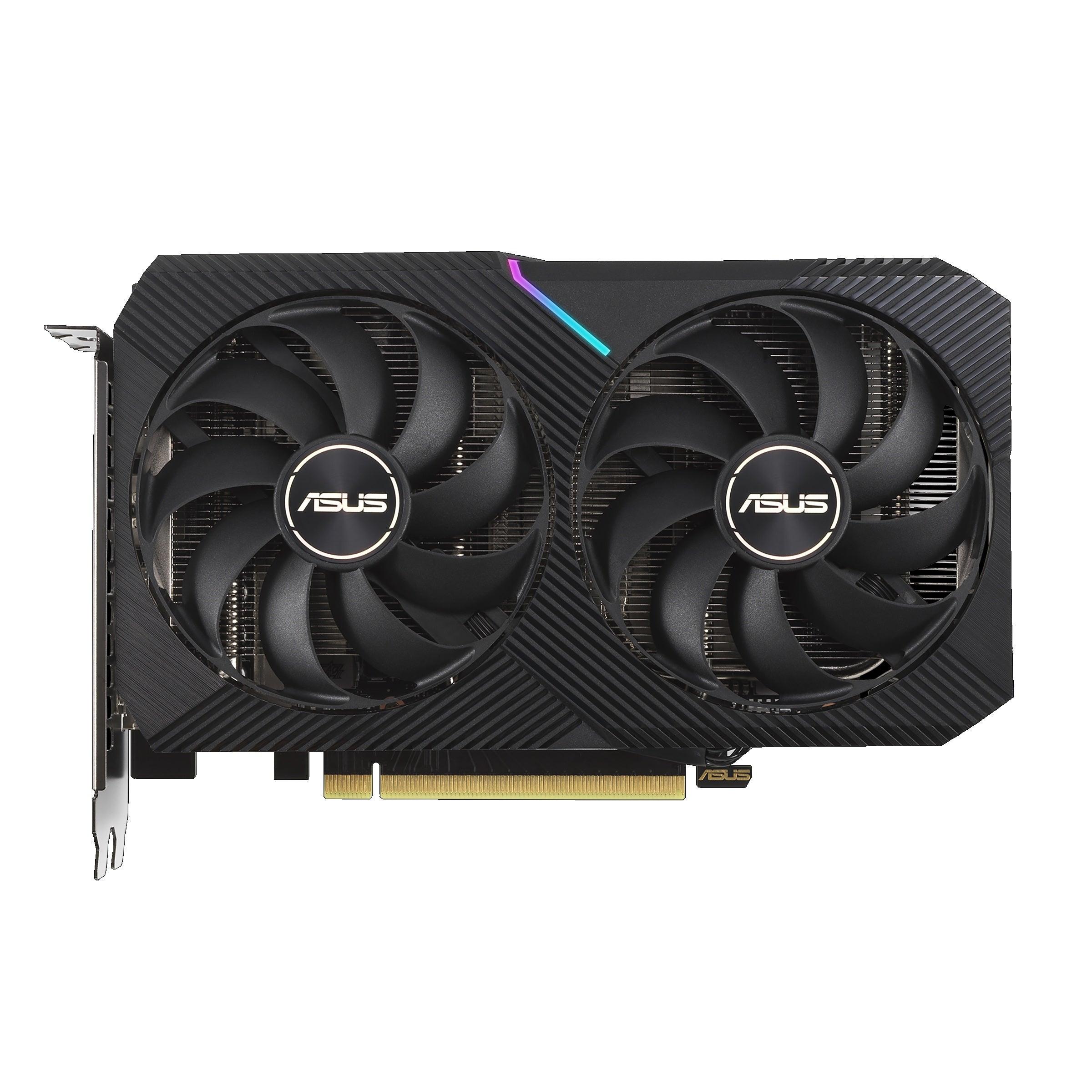 Asus Dual GeForce RTX 3060 Ti V2 Mini OC Edition Graphics Card