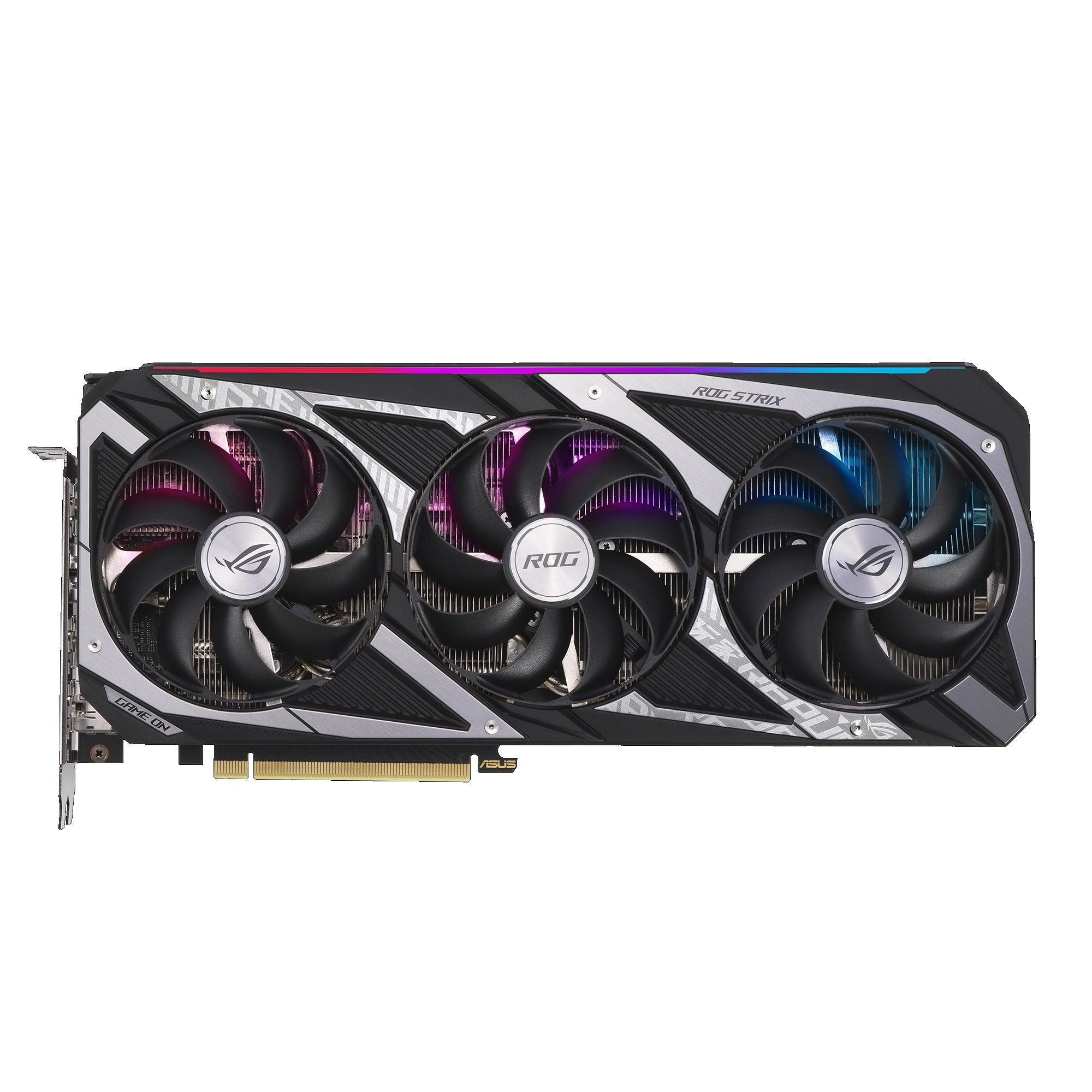 Asus ROG Strix GeForce RTX 3060 V2 OC Edition Graphics Card