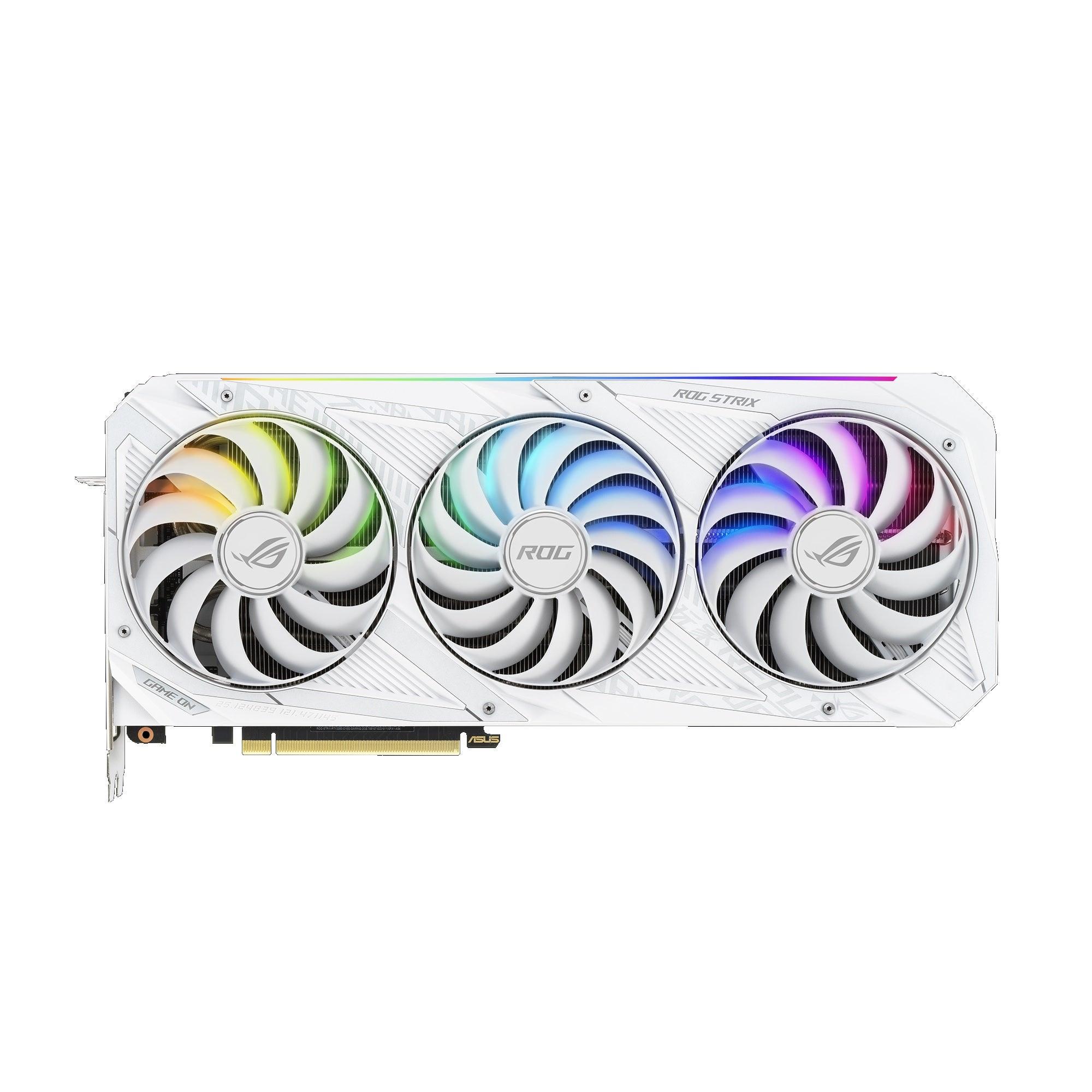 Asus ROG Strix GeForce RTX 3080 V2 White OC Edition Graphics Card