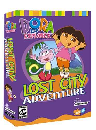 Atari Dora the Explorer Lost City Adventure PC Game