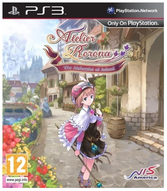 NIS Atelier Rorona The Alchemist Of Arland PS2 Playstation 2 Game