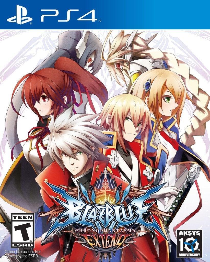 Aksys Games BlazBlue Chrono Phantasma Extend PS4 Playstation 4 Game