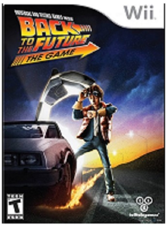 Telltale Games Back to the Future The Game Nintendo Wii Game