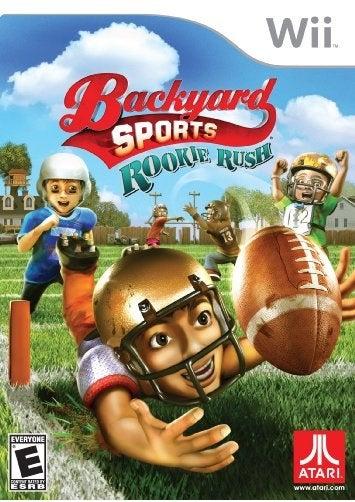 Atari Backyard Sports Rookie Rush Nintendo Wii Game