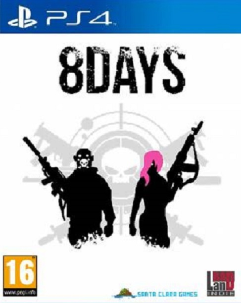 Badland Games 8 Days Peace Is Our Business PS4 Playstation 4 Game