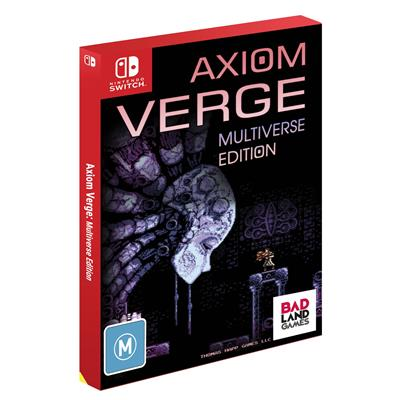 Badland Games Axiom Verge Multiverse Edition Nintendo Switch Game
