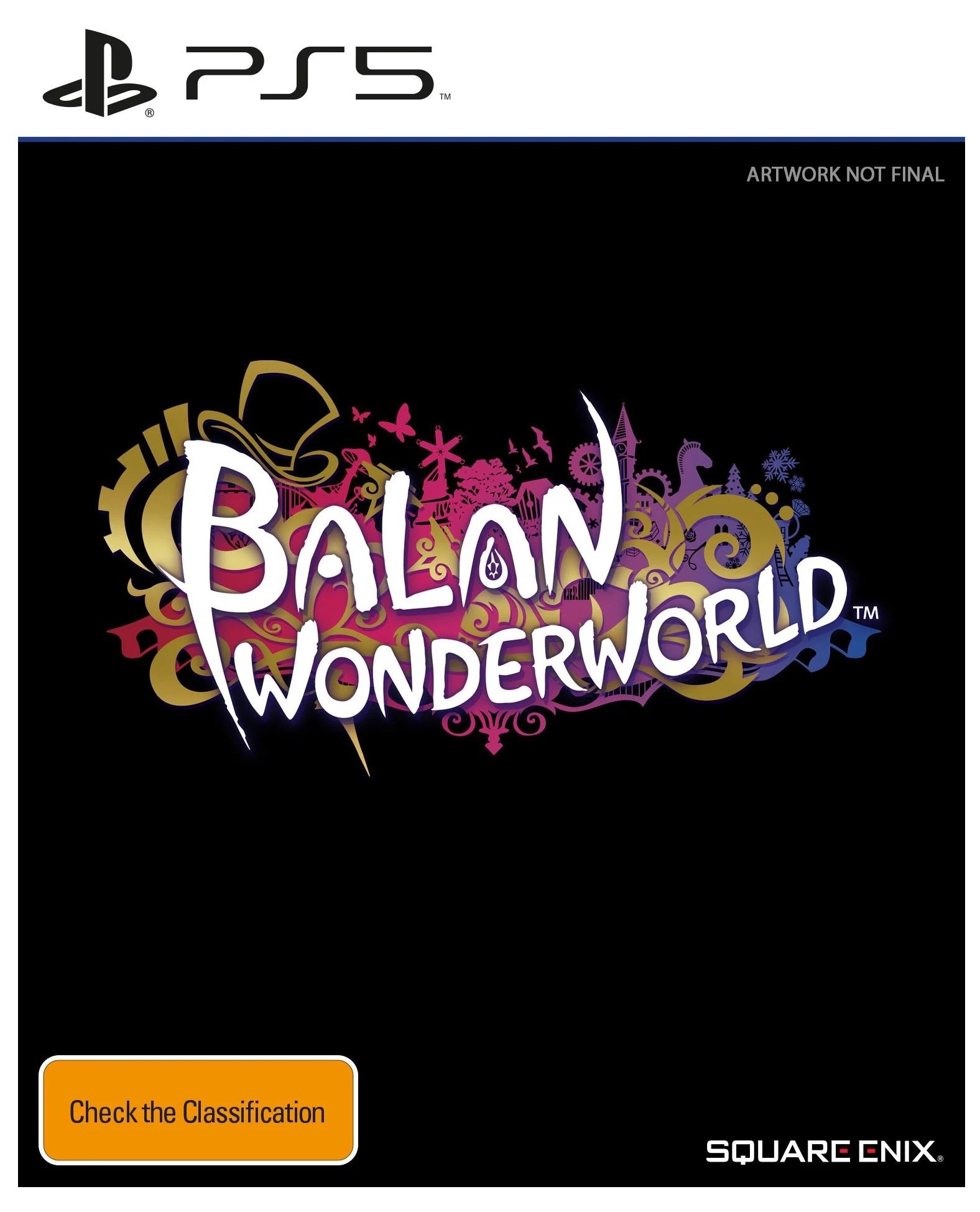 Square Enix Balan Wonderworld PS5 Playstation 5 Game