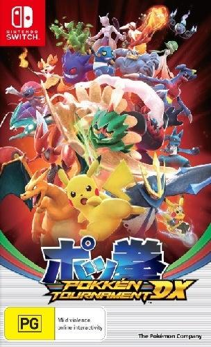 Bandai Pokken Tournament DX Nintendo Switch Game