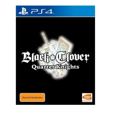 Bandai Black Clover Quartet Knights PS4 Playstation 4 Game
