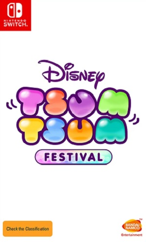 Bandai Disneys Tsum Tsum Festival Nintendo Switch Game