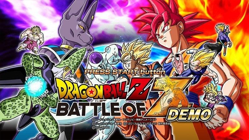 Bandai Dragon Ball Z Battle of Z PS3 Playstation 3 Game