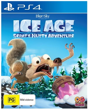 Bandai Ice Age Scrats Nutty Adventure PS4 Playstation 4 Game