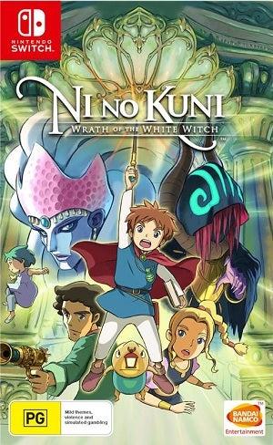 Bandai Ni No Kuni Wrath Of The White Witch Nintendo Switch Game