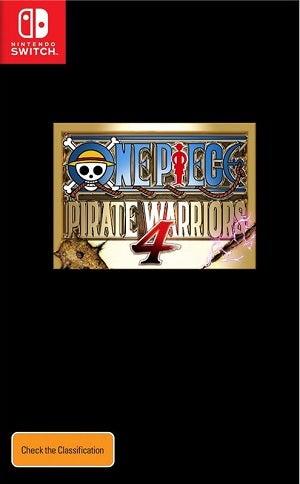 Bandai One Piece Pirate Warriors 4 Nintendo Switch Game
