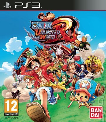 Bandai One Piece Unlimited World Red PS3 Playstation 3 Game