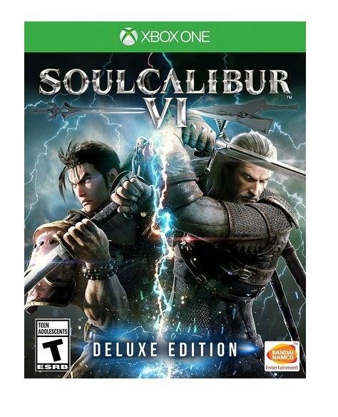 Bandai Soul Calibur VI Deluxe Edition Xbox One Game