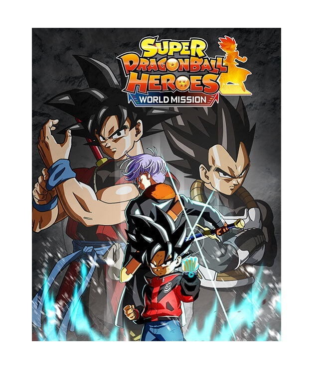 Bandai Super Dragon Ball Heroes World Mission Nintendo Switch Game