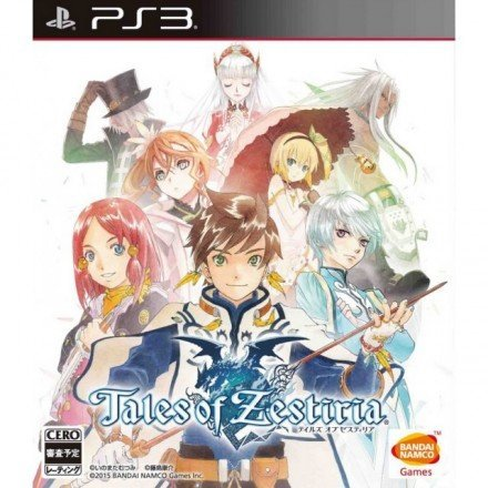 Bandai Tales of Zestiria PS3 Playstation 3 Game