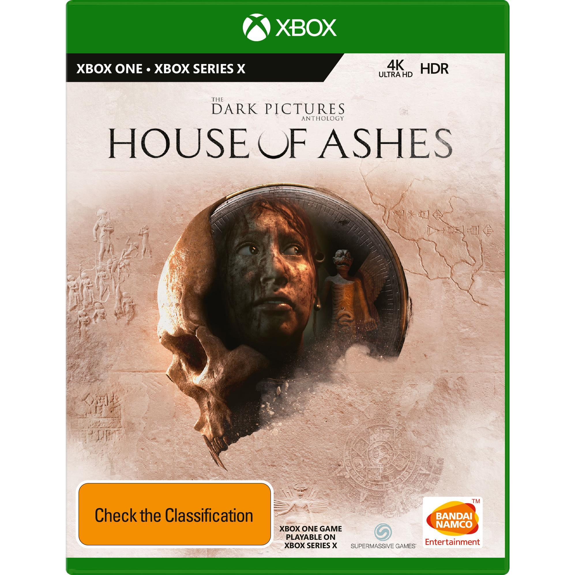 Bandai The Dark Pictures Anthology House Of Ashes Xbox Series X Game