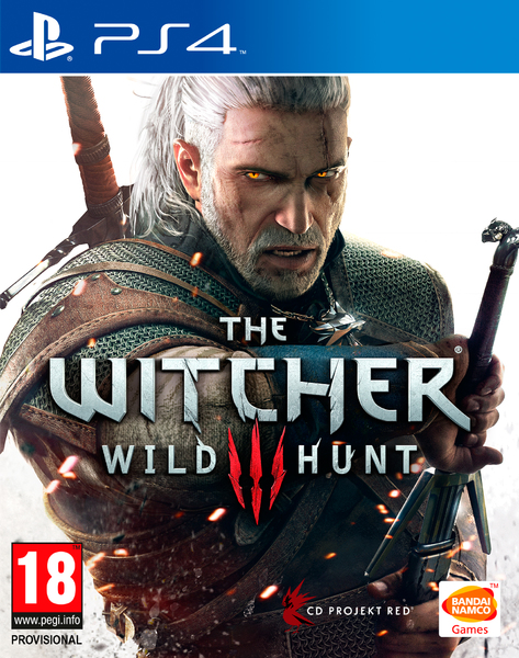 Bandai The Witcher 3  PS4 Playstation 4 Game