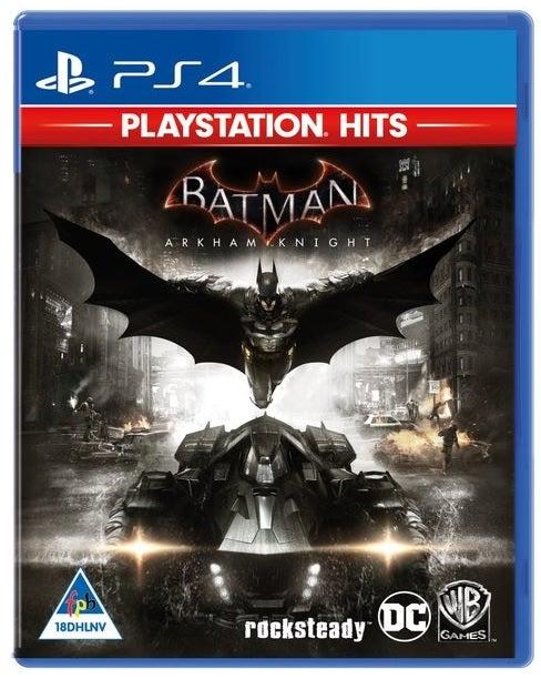 Warner Bros Batman Arkham Knight PlayStation Hits PS4 Playstation 4 Game