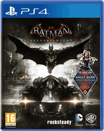 Warner Bros Batman Arkham Knight PS4 Playstation 4 Game