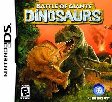 Ubisoft Battle Of Giants Dinosaurs Refurbished Nintendo DS Game