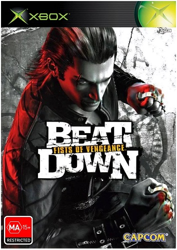 Capcom Beat Down Fists of Vengeance Xbox Game
