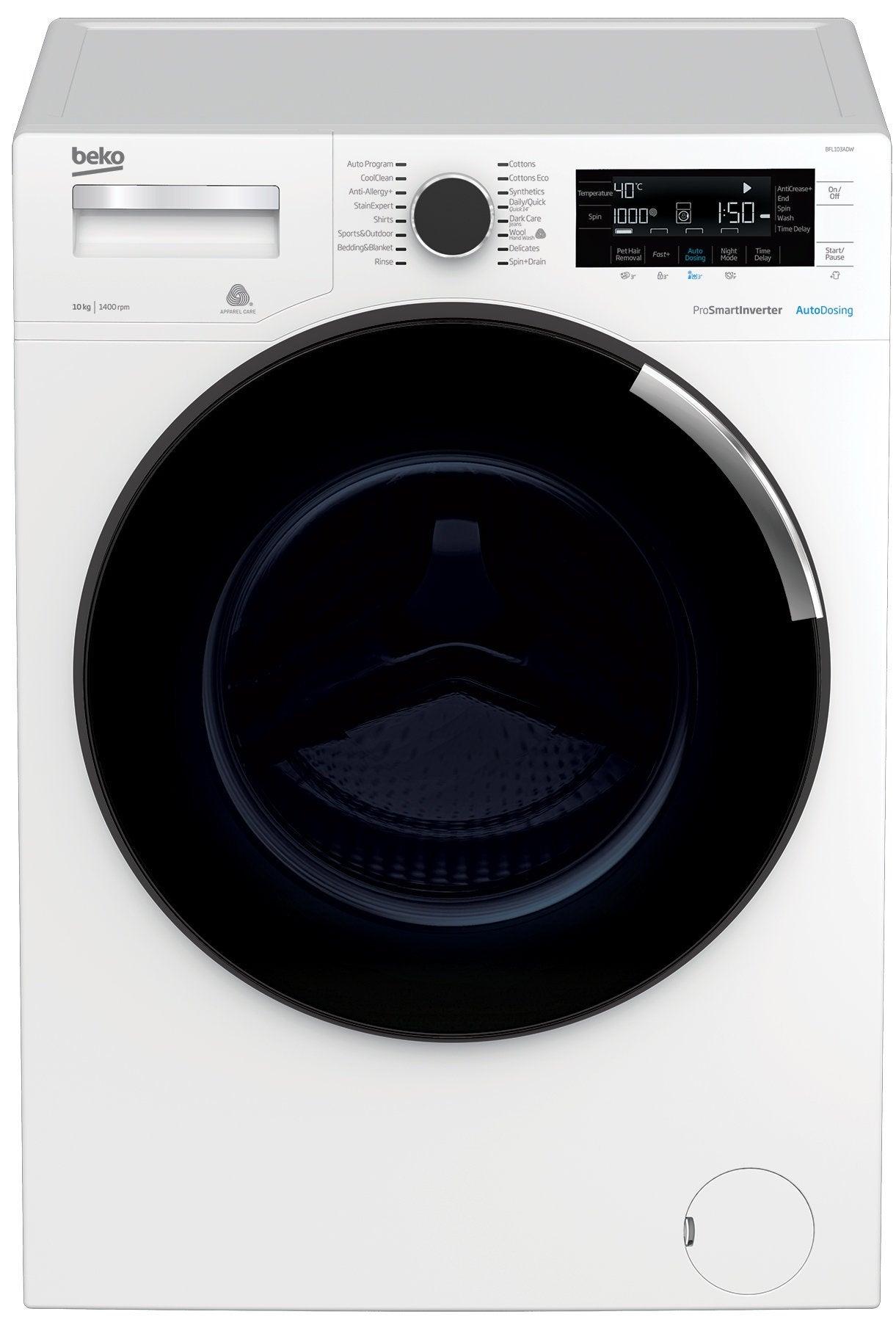 Beko BFL103ADW Washing Machine
