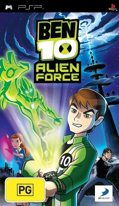 D3 Ben 10 Alien Force Refurbished PSP Game