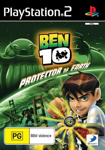 D3 Ben 10 Protector Of The Earth Refurbished PS2 Playstation 2 Game