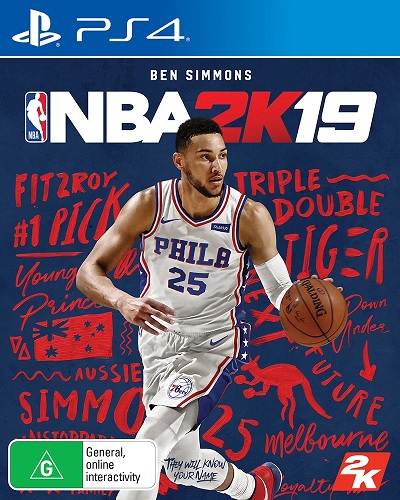 2k Sports Ben Simmons NBA 2K19 Refurbished PS4 Playstation 4 Game