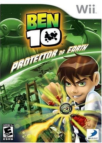 D3 Ben 10 Protector Of Earth Refurbished Nintendo Wii Game