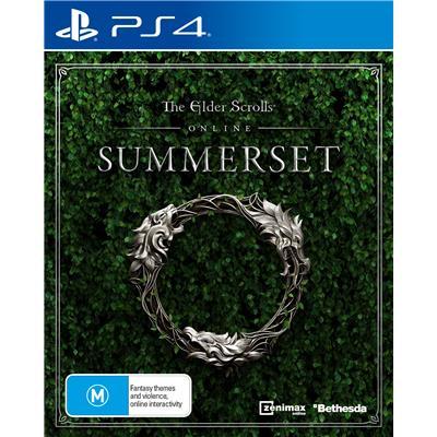 Bethesda Softworks The Elder Scrolls Online Summerset PS4 Playstation 4 Game