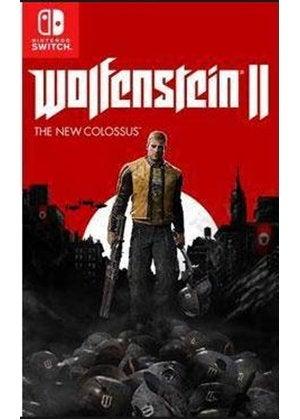 Bethesda Softworks Wolfenstein II The New Colossus Nintendo Switch Game