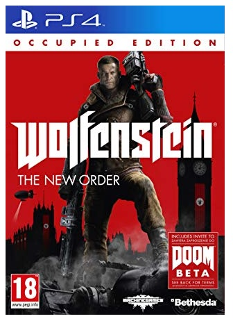 Bethesda Softworks Wolfenstein The New Order Occupied Edition PS4 Playstation 4 Game