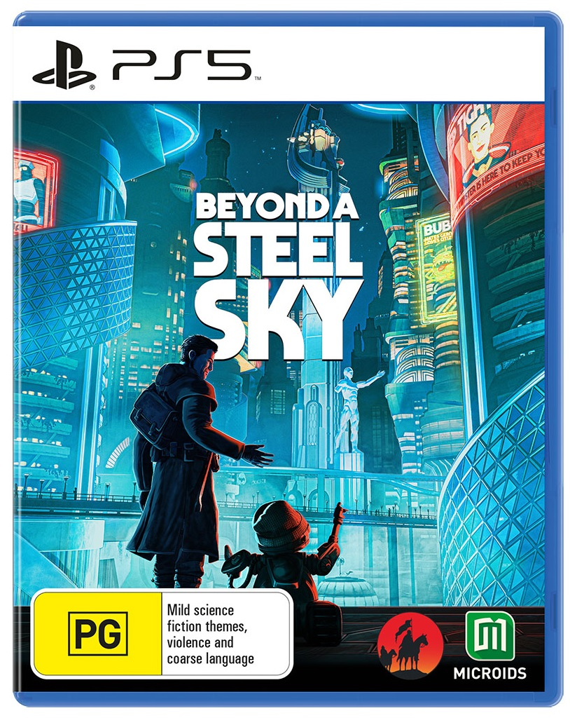 Revolution Beyond A Steel Sky PS5 PlayStation 5 Game